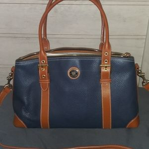 Handbags - Dooney and bourke large leather domed satchel